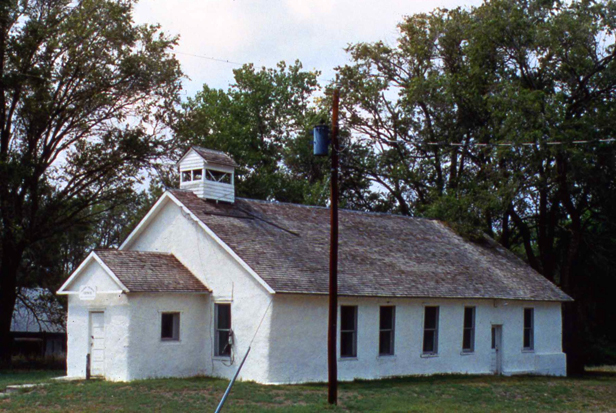 Pilgrim Holiness Church in Arthur, Nebraska.