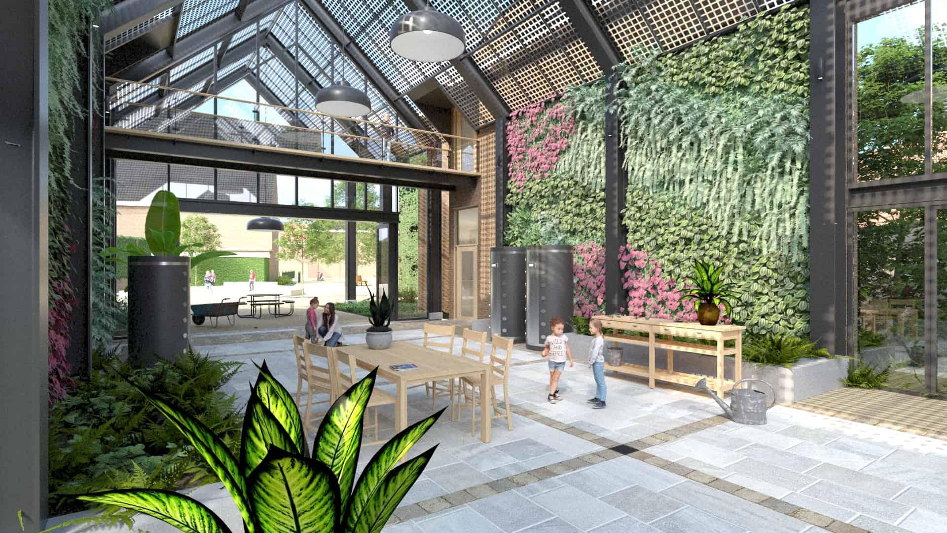 3d-visualisatie-Cornelius Musius school Rijswijk